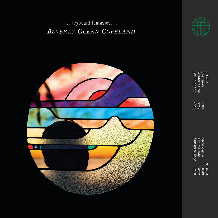 Cover artwork of Keyboard Fantasies by Beverly Glenn-Copeland